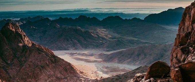 Sinai desert, where A Man At Arms is set