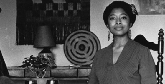 alice walker posed for a photo, circa 1979