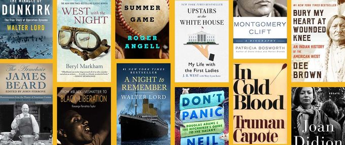 collage of the best nonfiction books of all time