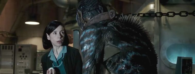 romantic movies like The Shape of Water
