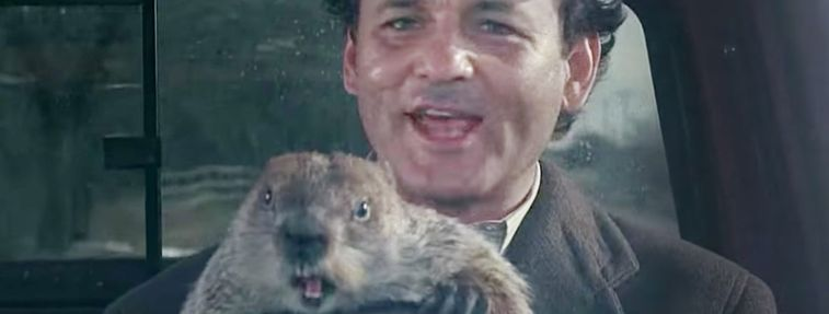 time travel movies Groundhog Day