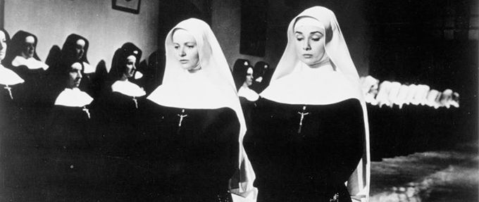 patricia bosworth and audrey hepburn in the nun's story