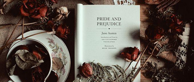 pride and prejudice, a classic romance novel