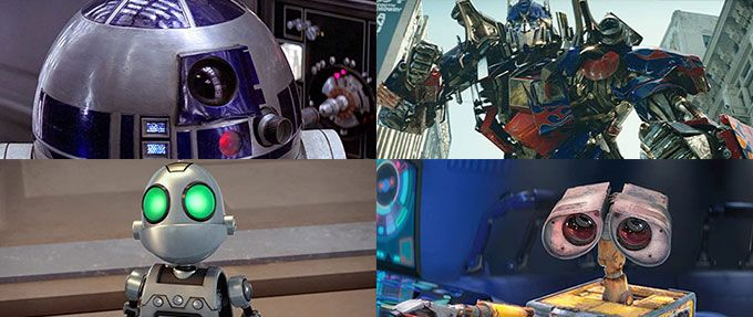 the 11 most iconic sci fi robots