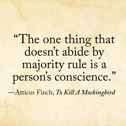 atticus finch quote from to kill a mockingbird
