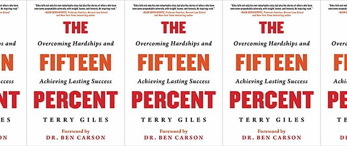 the fifteen percent by terry giles, one of the best books for success