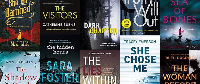 female-led thrillers written by women