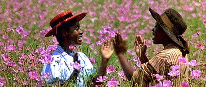 a still from the color purple, based on the book by alice walker