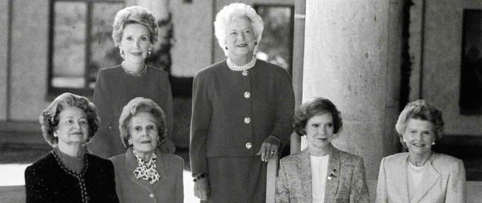 books about fascinating first ladies feature