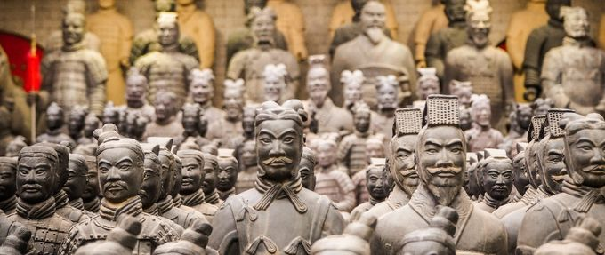 historic statues