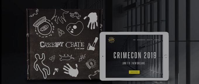 what's in creepy crate
