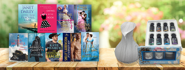 relaxing romance reader prize pack
