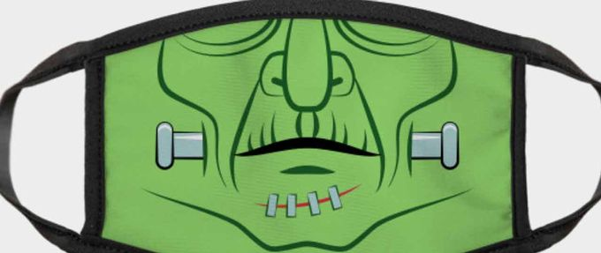Halloween 2020 masks feature