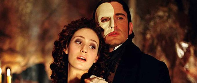 Phantom of the Opera romance books