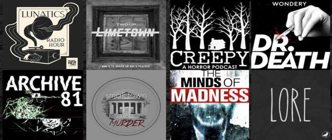 creepy podcast covers