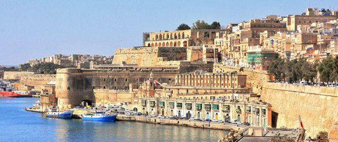 Valleta, Malta ocean front