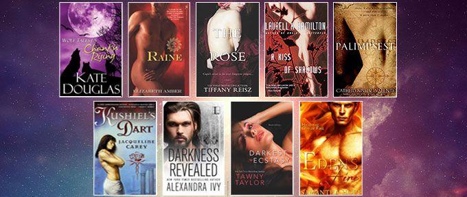 nine erotic fantasy books