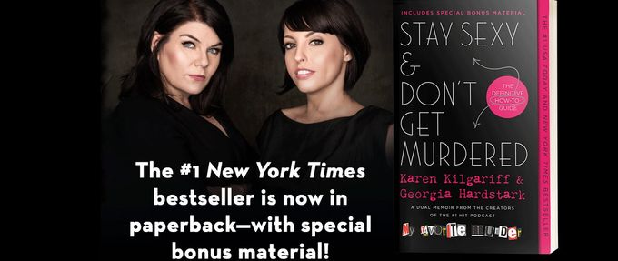 stay sexy & don't get murdered giveaway