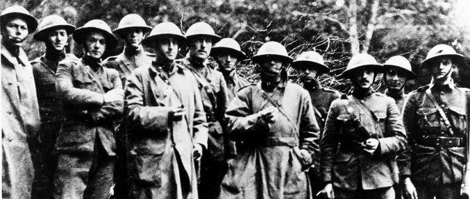 Survivors of the Battle of Belleau Wood