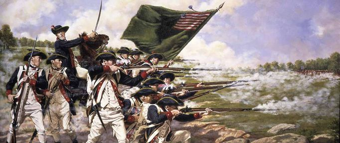 Continental Army stands off at the Battle of Long island