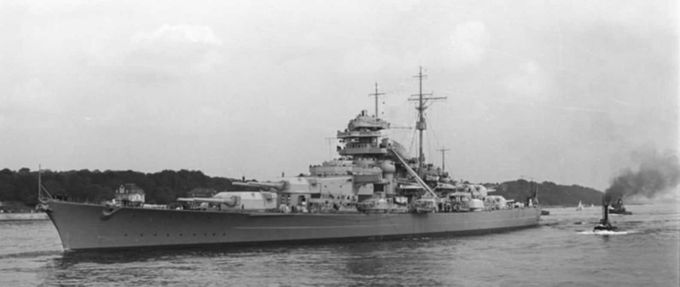 that time the german navy accidentally fought itself