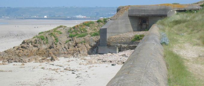 wwii bunkers channel islands