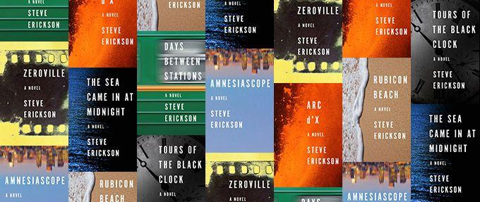steve erickson books