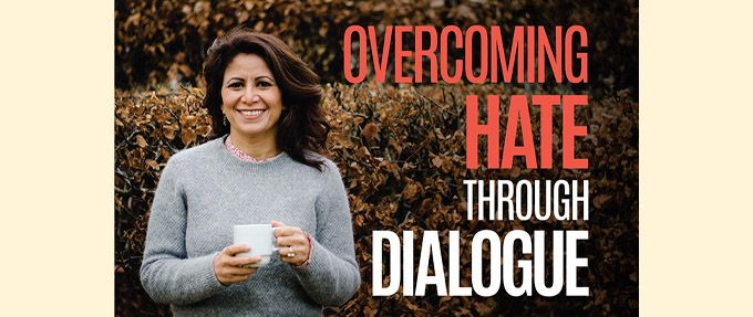 Overcoming Hate Through Dialogue book cover