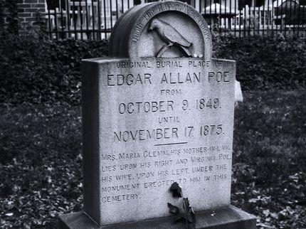 edgar allan poe died of rabies