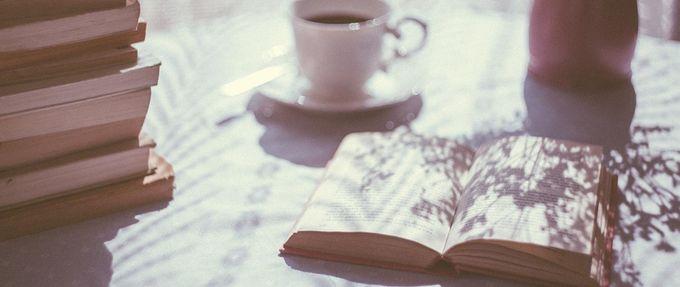 open romance book