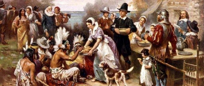 how thanksgiving became a national holiday feature